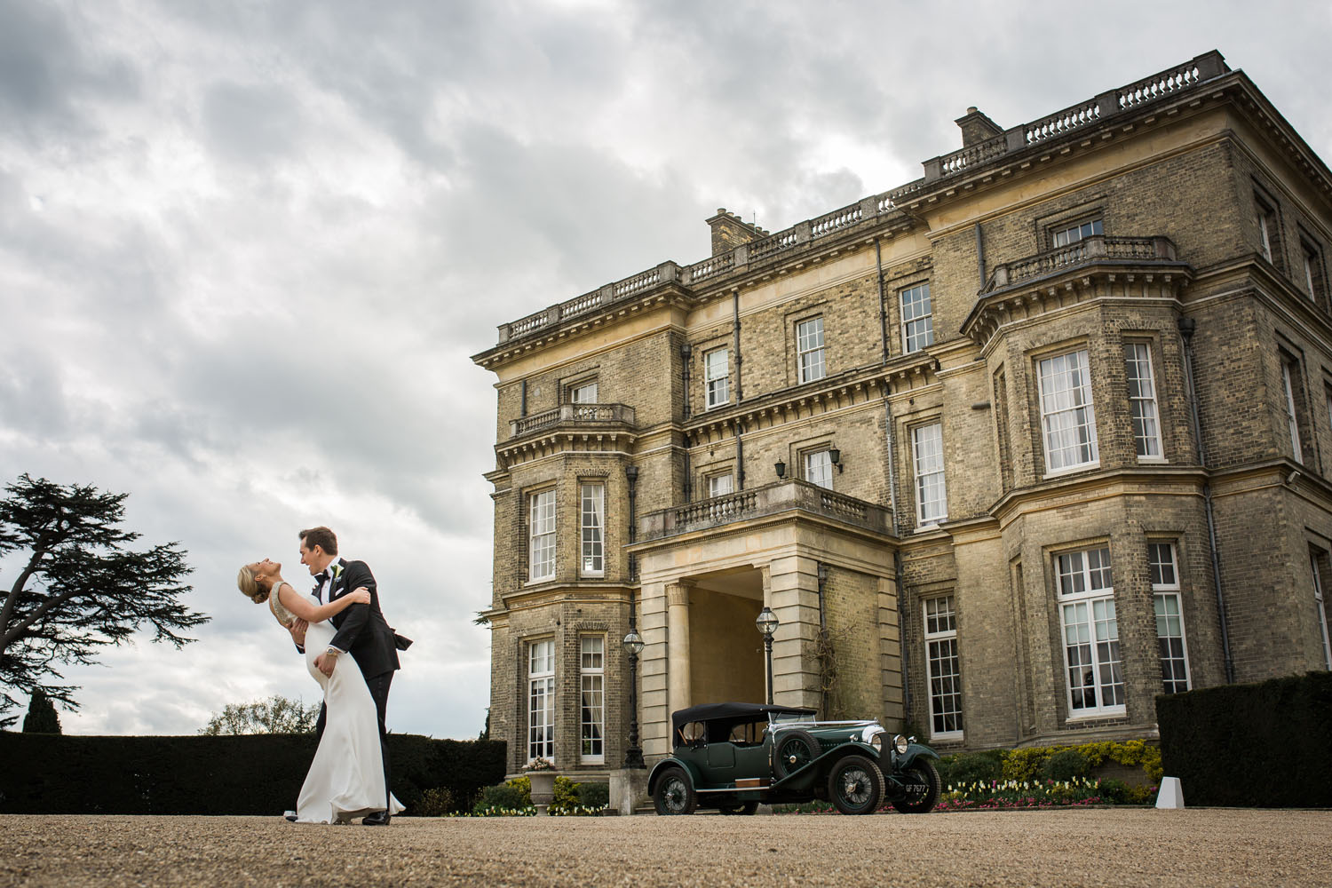 Hedsor House, Bucks - couple shot