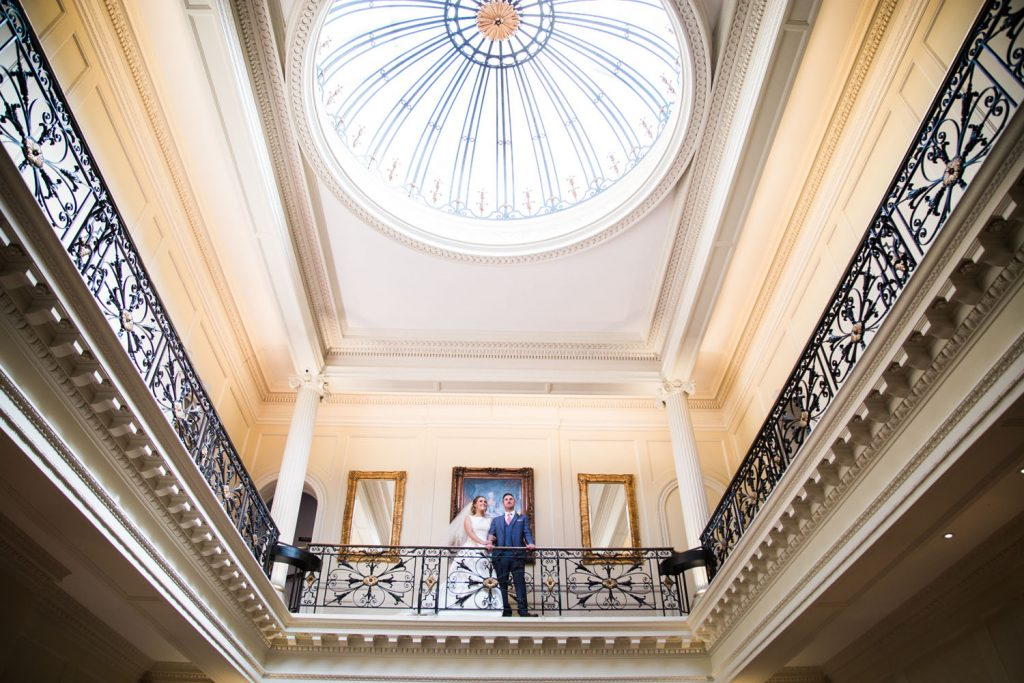 Hedsor House Dome - Bride and Groom