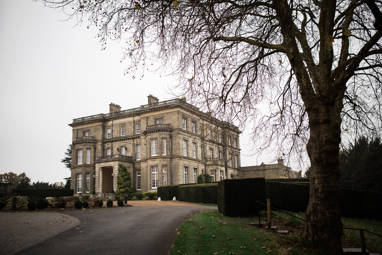 hedsor house - winter wedding