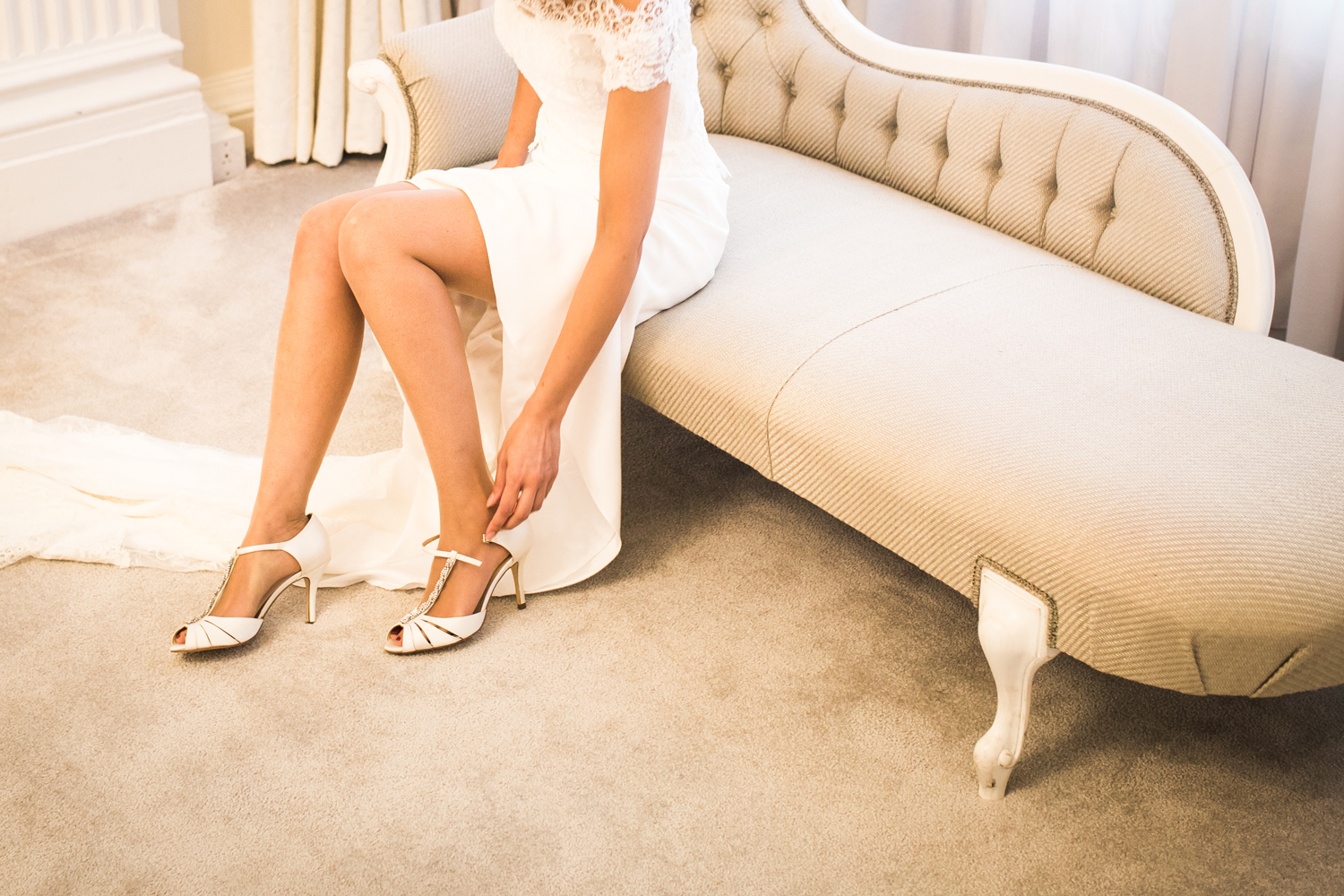 bride shoes - hedsor