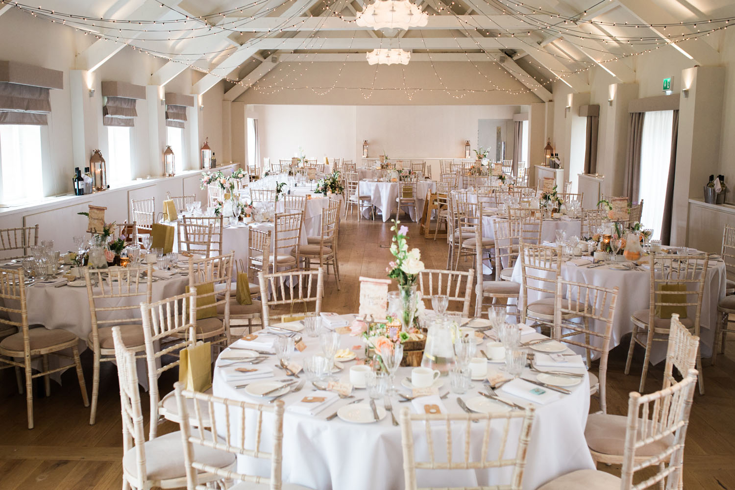 Stoke Place Wedding - main hall