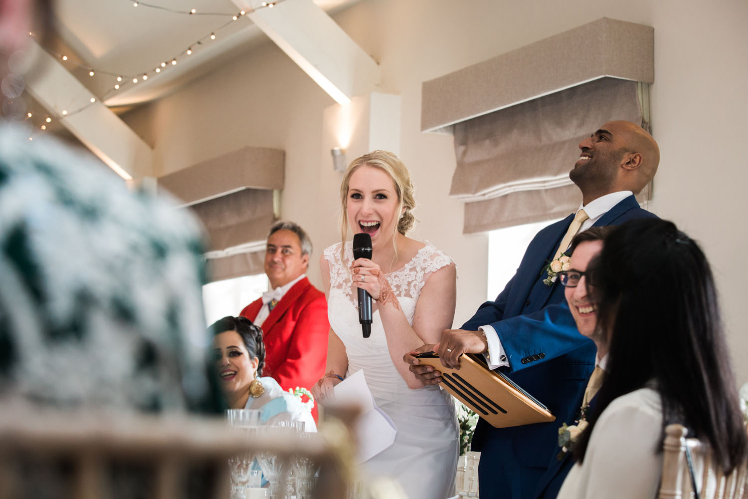 Stoke Place Wedding Speeches by Heni Fourie Photography
