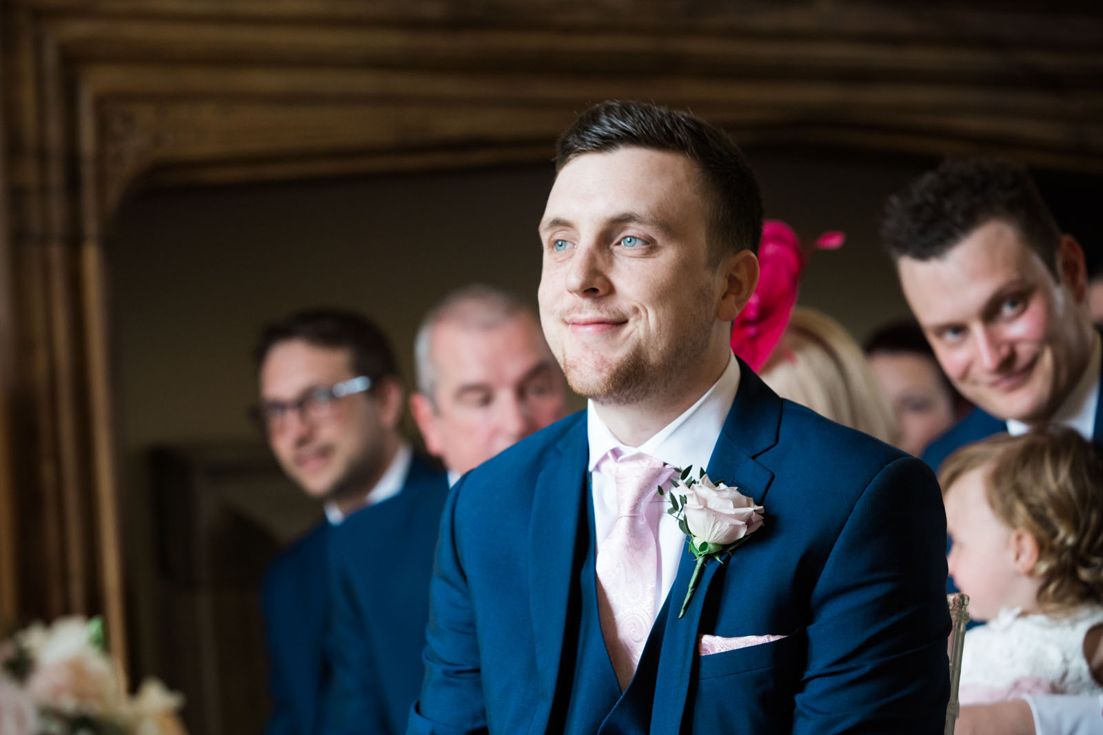 blue eyed groom