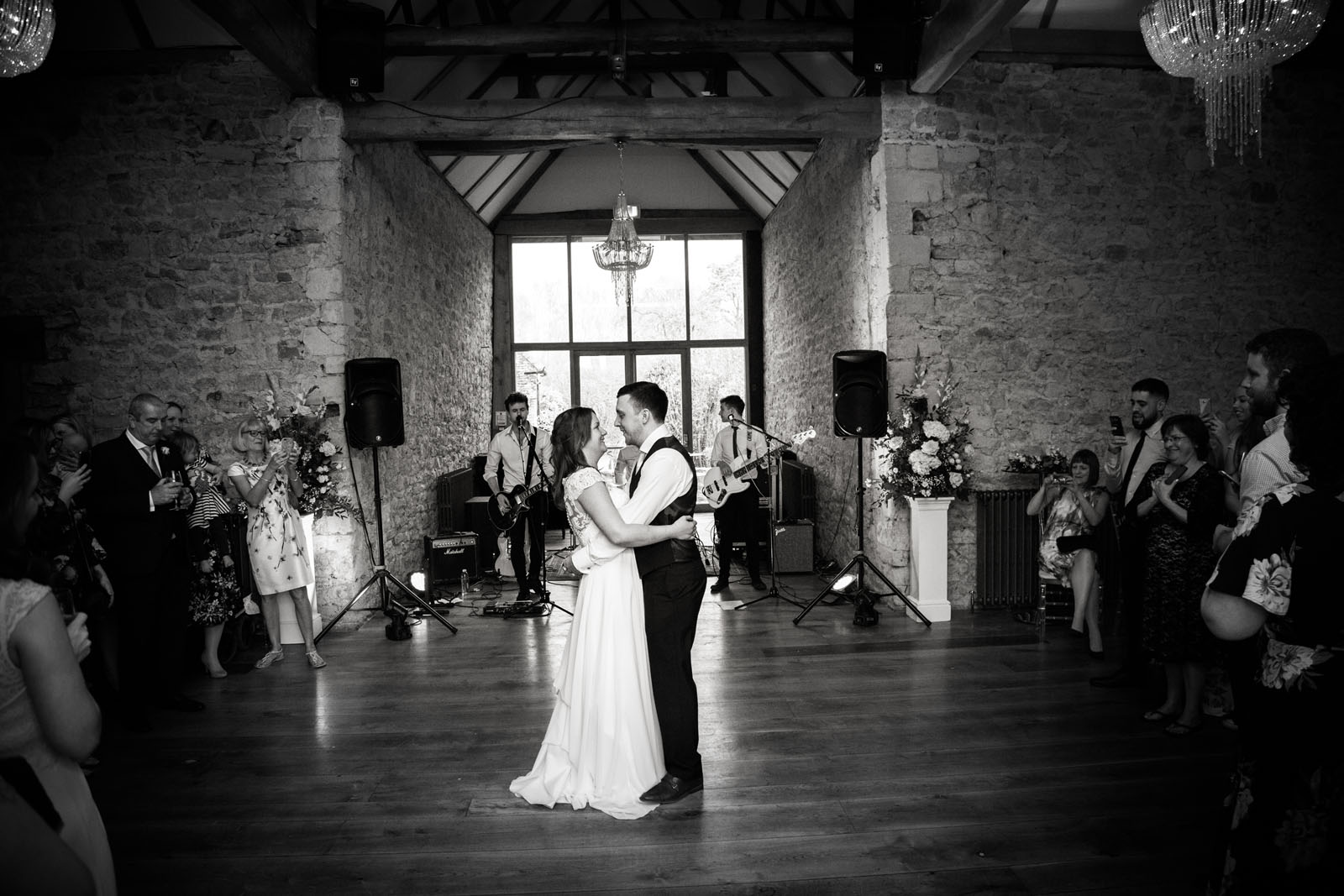 Notley Abbey Wedding venue - first dance