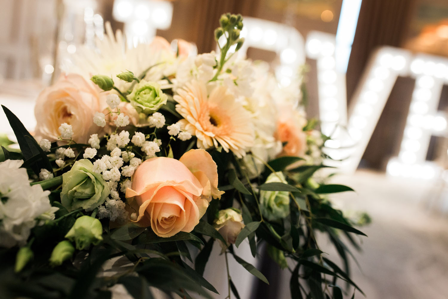 wedding flowers - latimer house