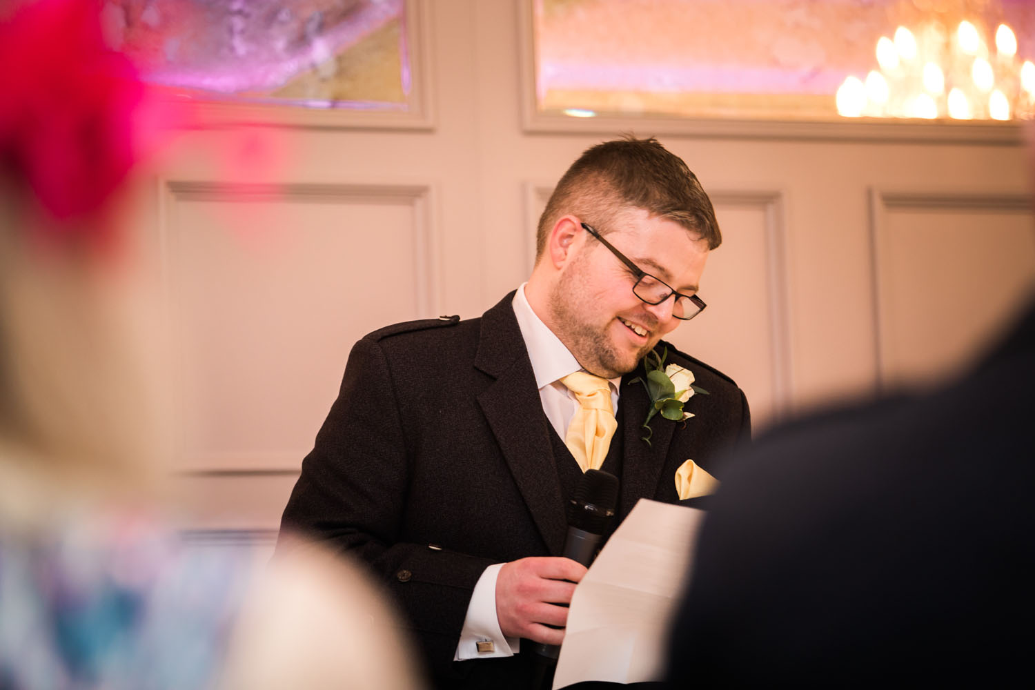 Groom's speech - devere Latimer, Bucks