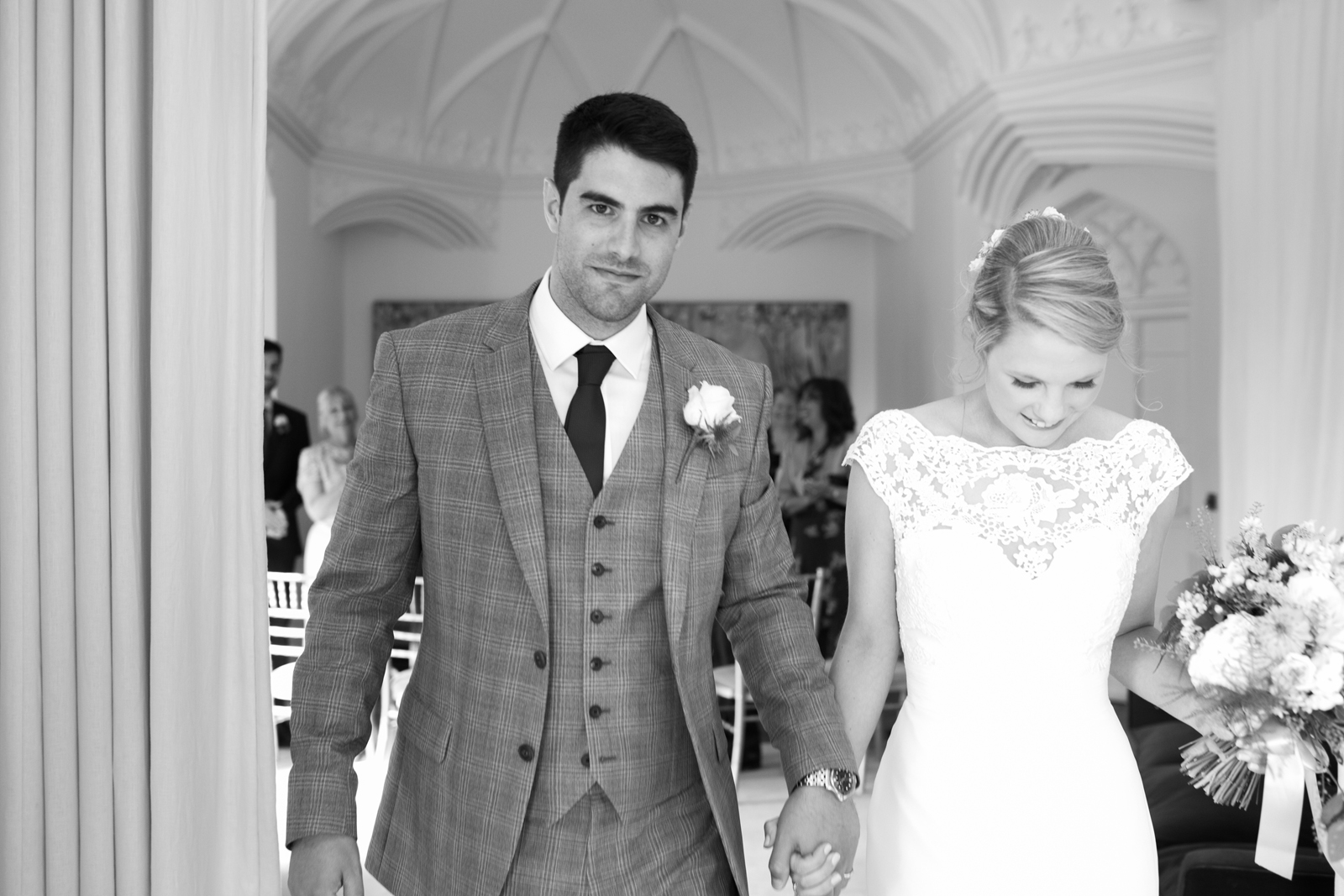 Just married - Spring Cottage Ceremony, Cliveden House