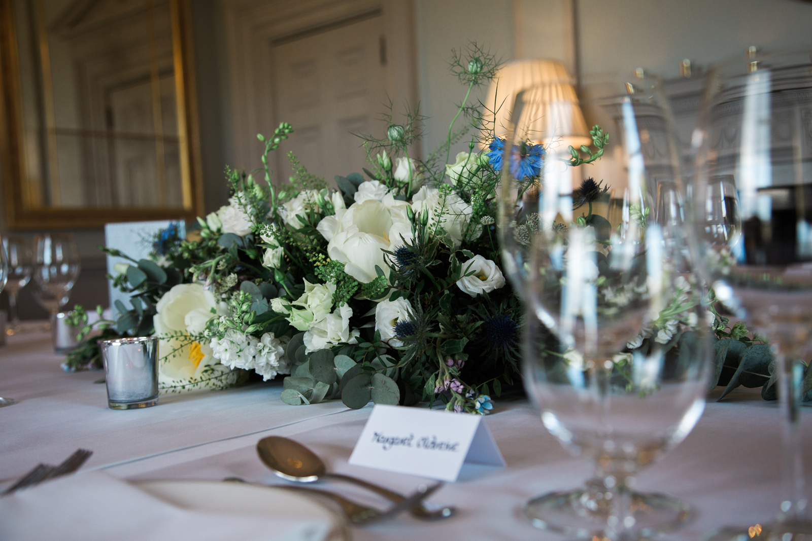 Cliveden House - Wedding Table Setting