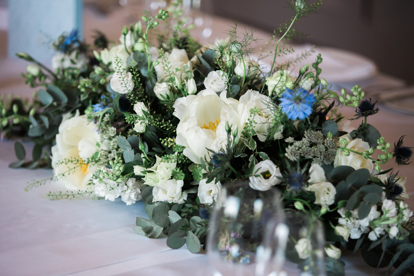 Wedding flowers - centerpiece