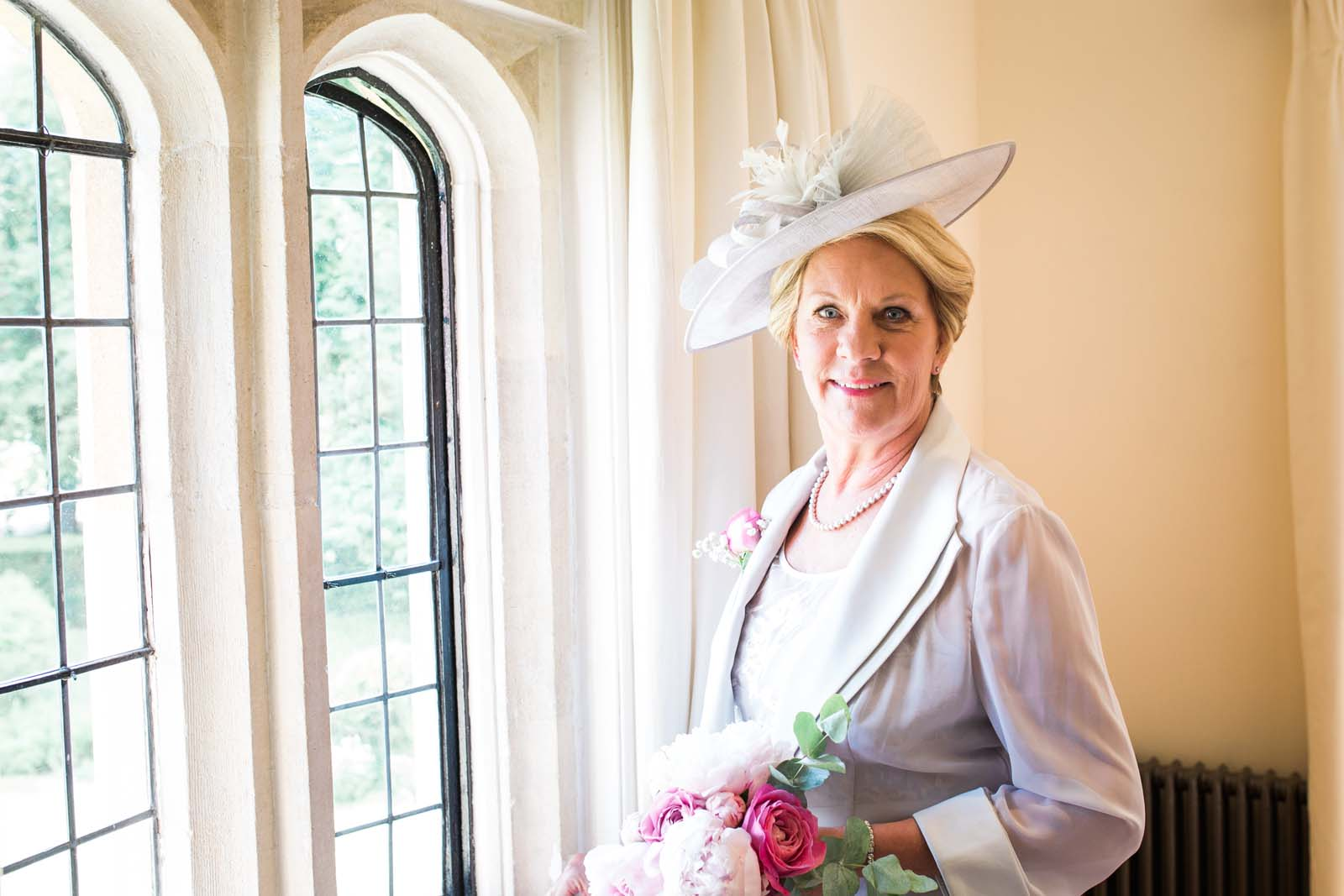 Notley Abbey wedding in Buckinghamshire - mother of the Bride