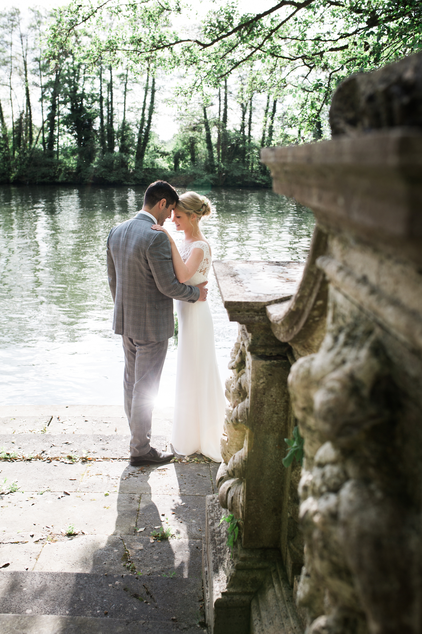 Cliveden Wedding Venue Summer Cottage Bride and Groom