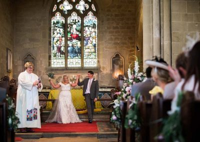 Church Wedding with Happy Couple - Heni Fourie Photography