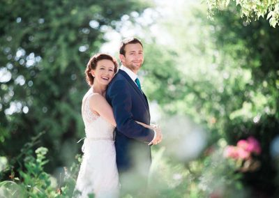 Happy Couple - Bride and Groom at The Crowne Pishill Photography