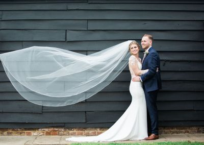 Tudor Barn - Veil Blowing in the Wind - Heni Fourie Photography
