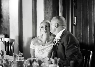 Father of the Bride - Kiss on the Cheek - Heni Fourie Photography